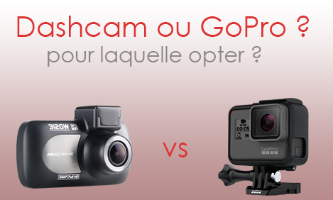 dashcam ou gopro