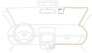installation dashcam voiture
