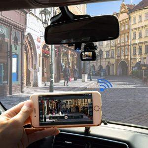 dashcam voiture wifi CE25 de Toguard